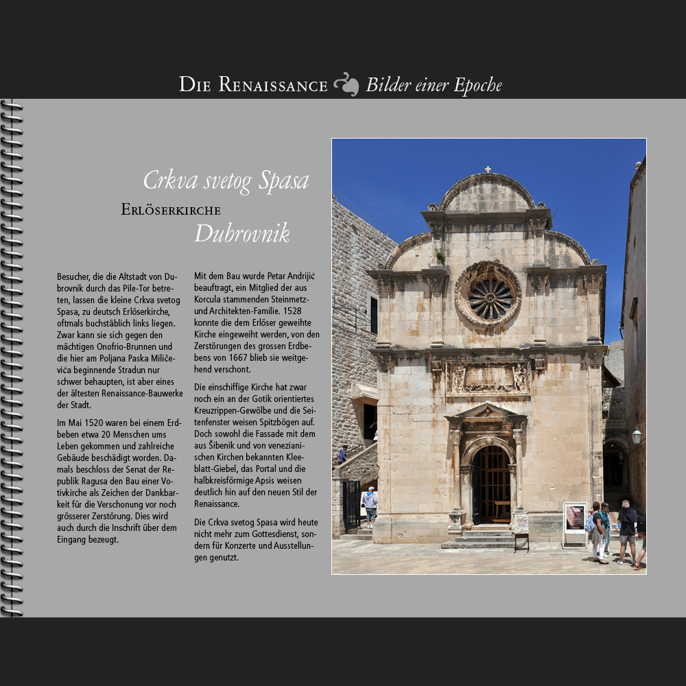 1520 • Dubrovnik   Crkva svetog Spasa
