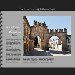 1522 • Baeza, Arco de Villalar und Puerta de Jaén