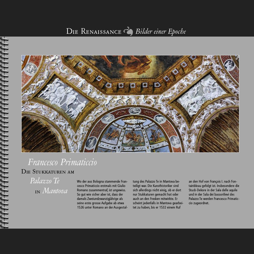 1526 • Francesco Primaticcio | Stukkaturen am Palazzo Te