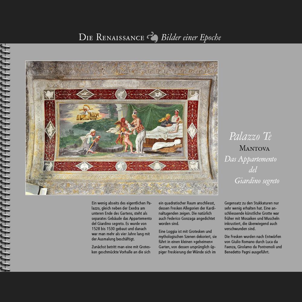 1528 • Mantova | Appartemento del Giardino segreto