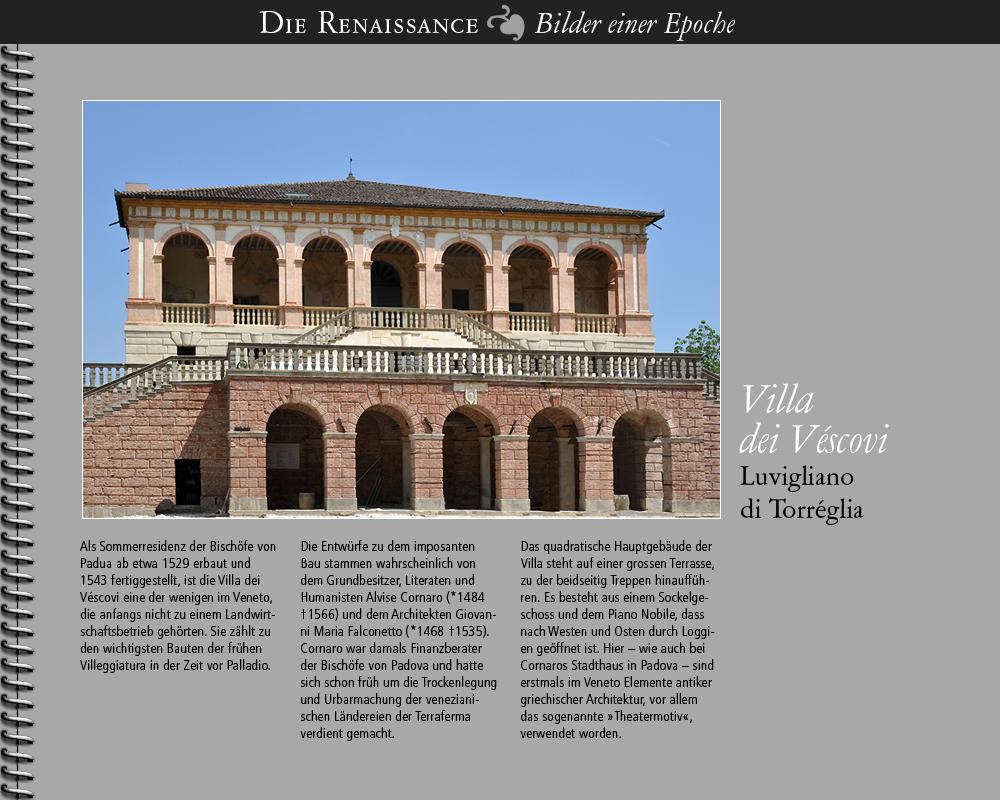 1529 • Villa dei Véscovi, Veneto