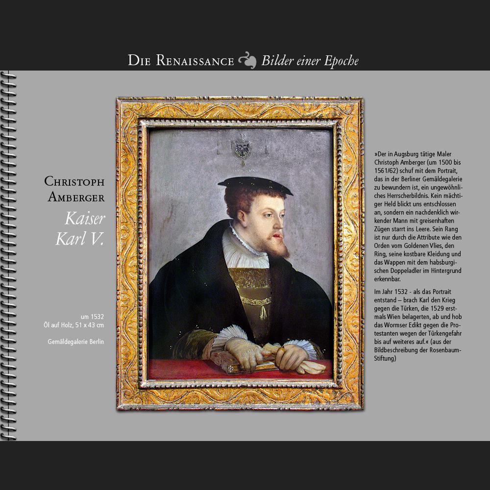 1532 • Christoph Amberger   Kaiser Karl V.