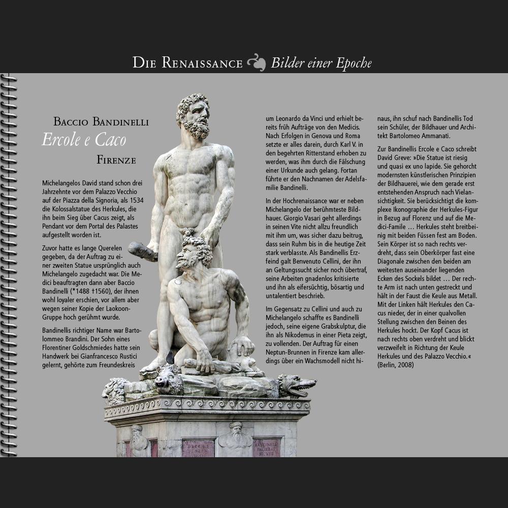 1534 • Baccio Bandinelli | Ercole e Caco