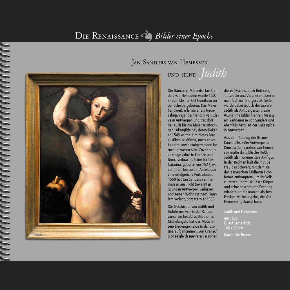 1535 • Jan Sanders van Hemessen   Judith