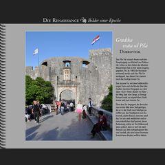 1537 • Dubrovnik | Gradska vrata od Pila