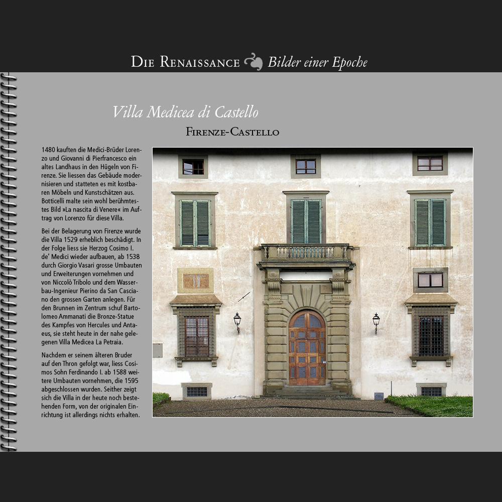 1538 • Firenze | Villa Medicea di Castello