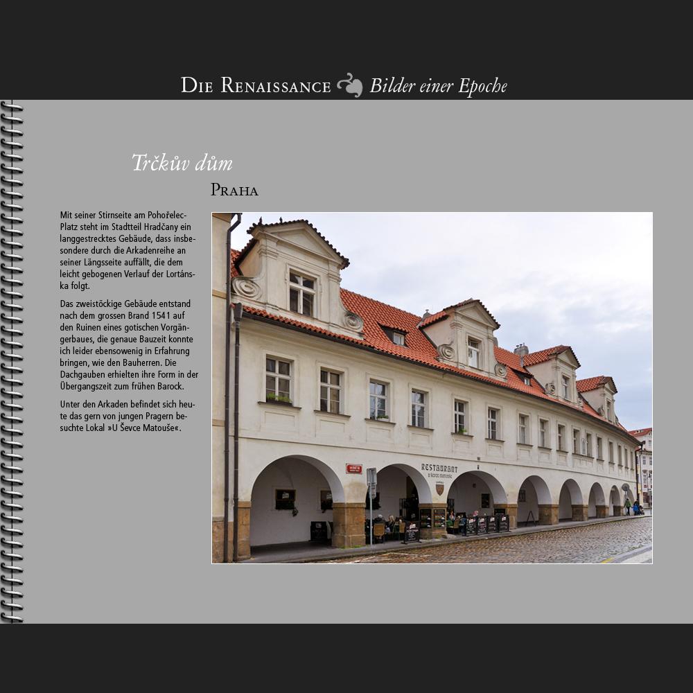 1541 • Praha | Trckuv dum