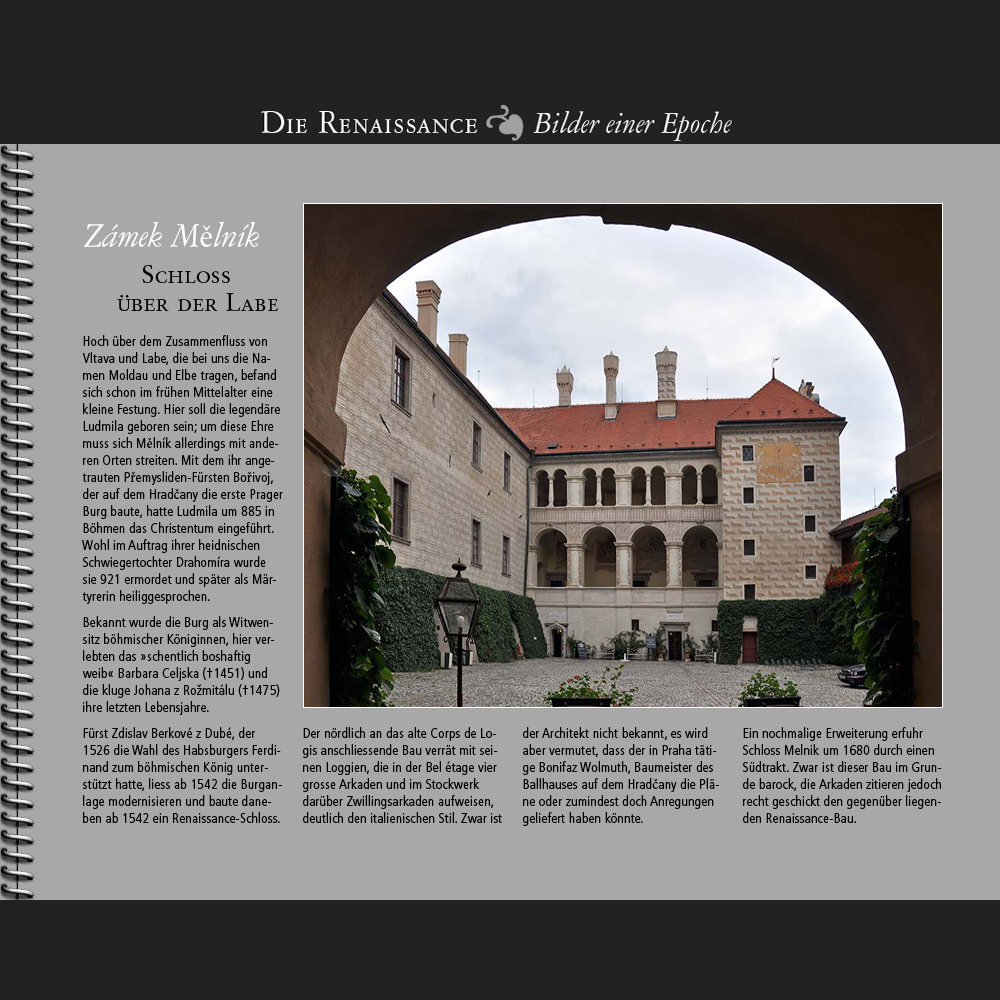 1542 • Zámek Melník