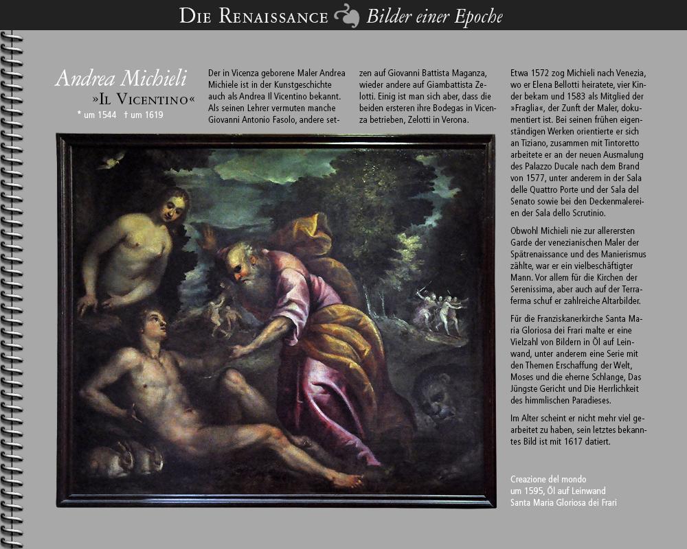 1544 • Andrea Michieli »Il Vicentino« | Maler