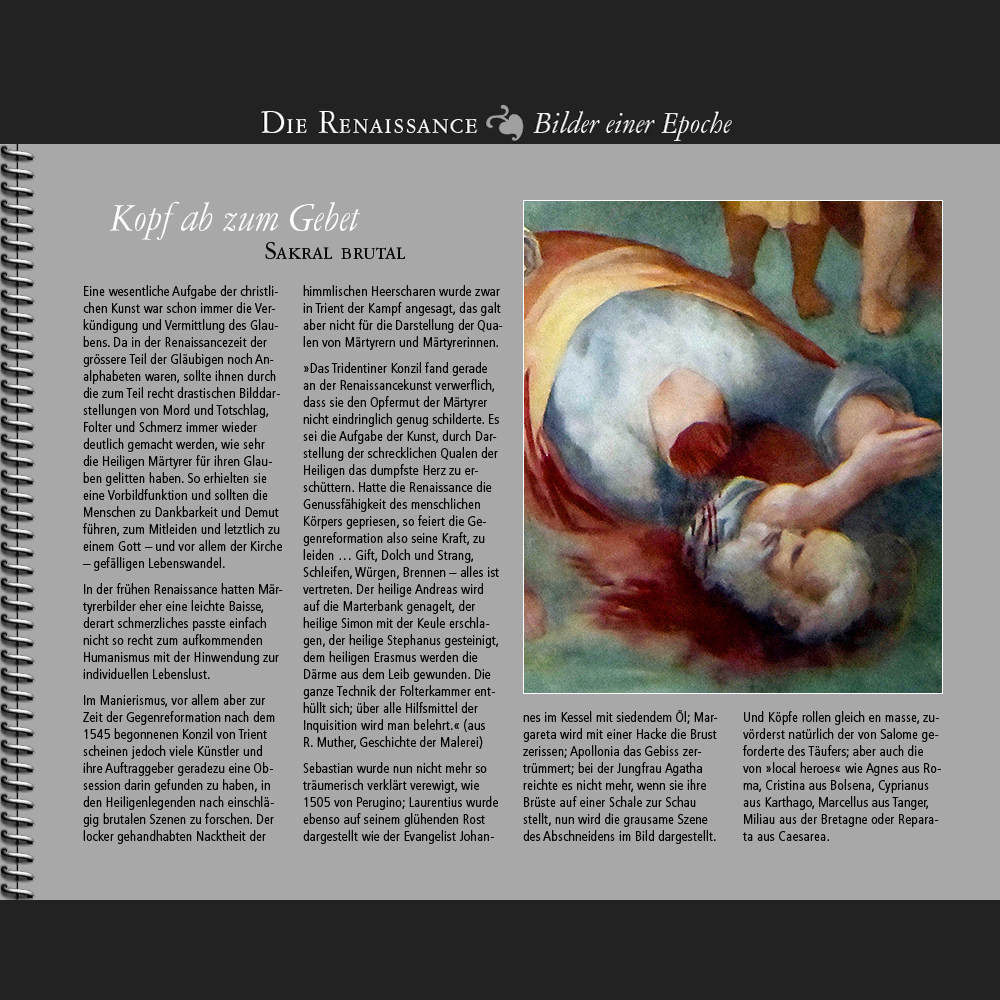 1545 • Kopf ab zum Gebet | Sakral brutal