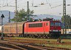 155 060-7 mit Güterzug in Basel