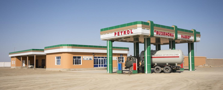 155 - Petrol Station between Khiva and Buchara