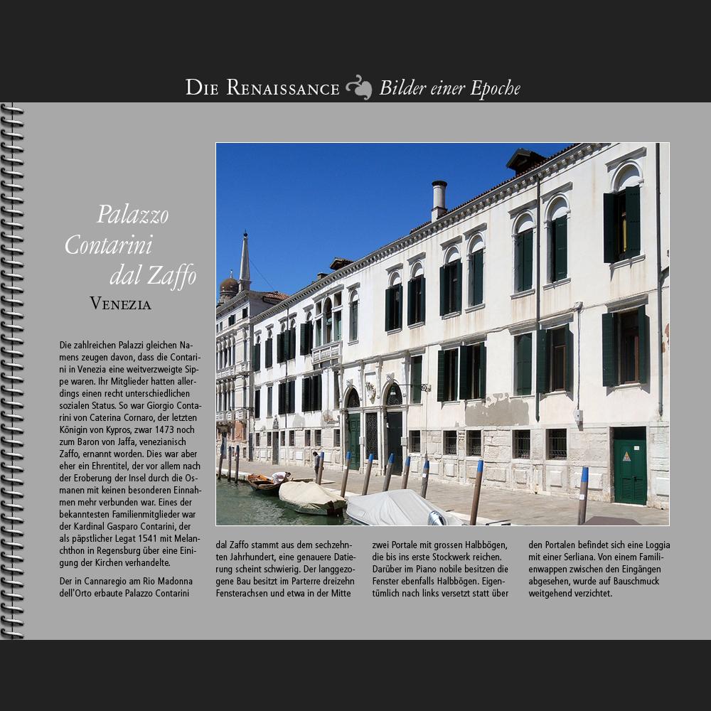 1550 • Venezia   Palazzo Contarini dal Zaffo