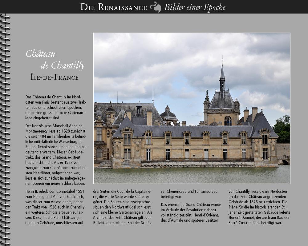 1551 • Château de Chantilly