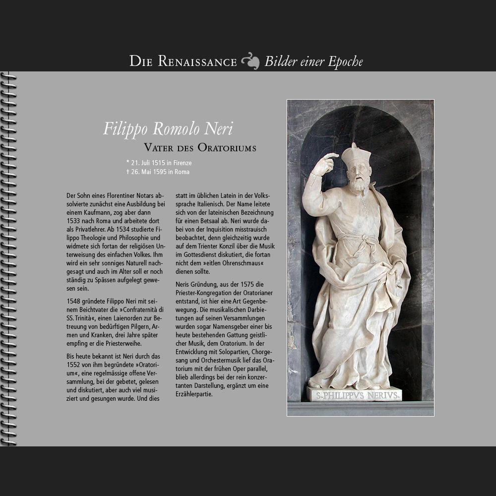 1552 • Das Oratorium des Filippo Neri