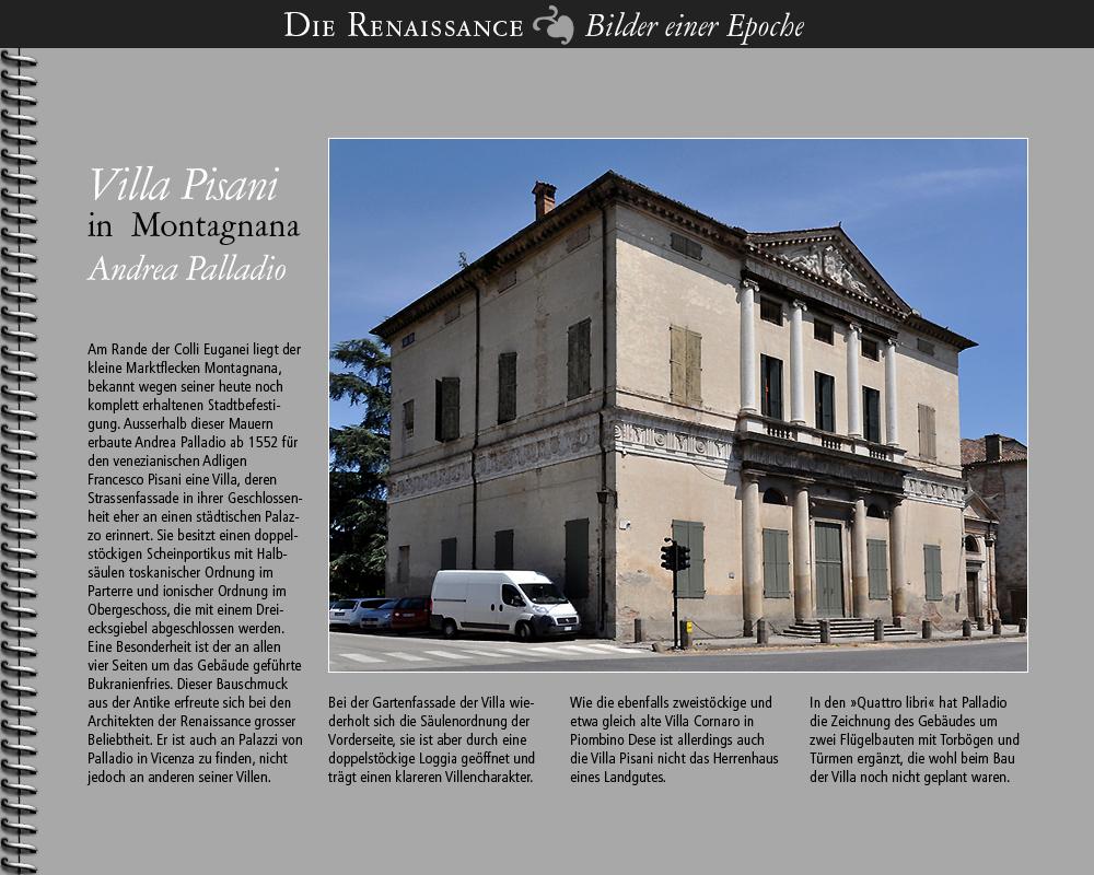 1552 • Montagnana | Villa Pisani