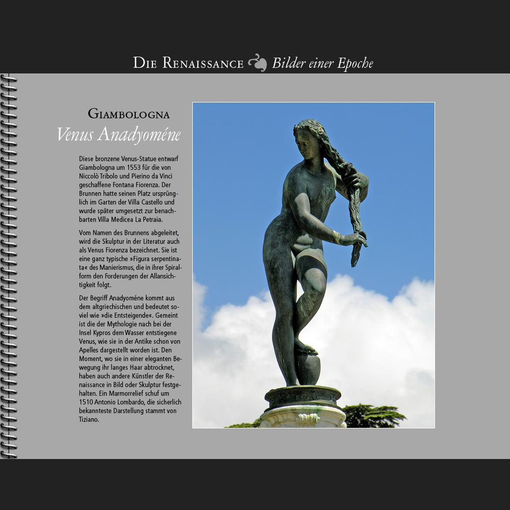 1553 • Giambologna   Venus Anadyoméne