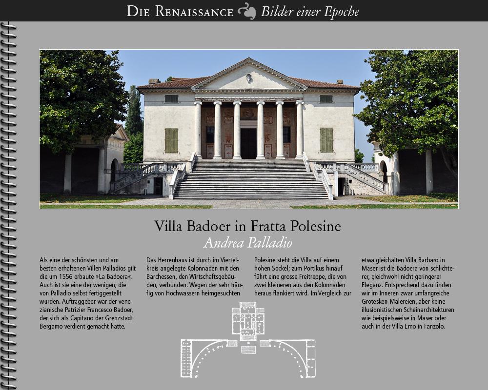 1556 • Fratta Polesine   Villa Badoer