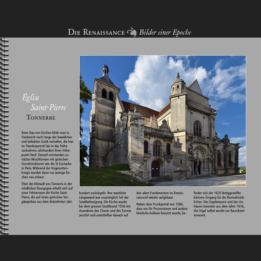 1556 • Tonnerre | Église Saint-Pierre