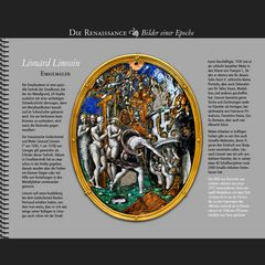 1557 • Léonard Limosin | La Descente aux Limbes