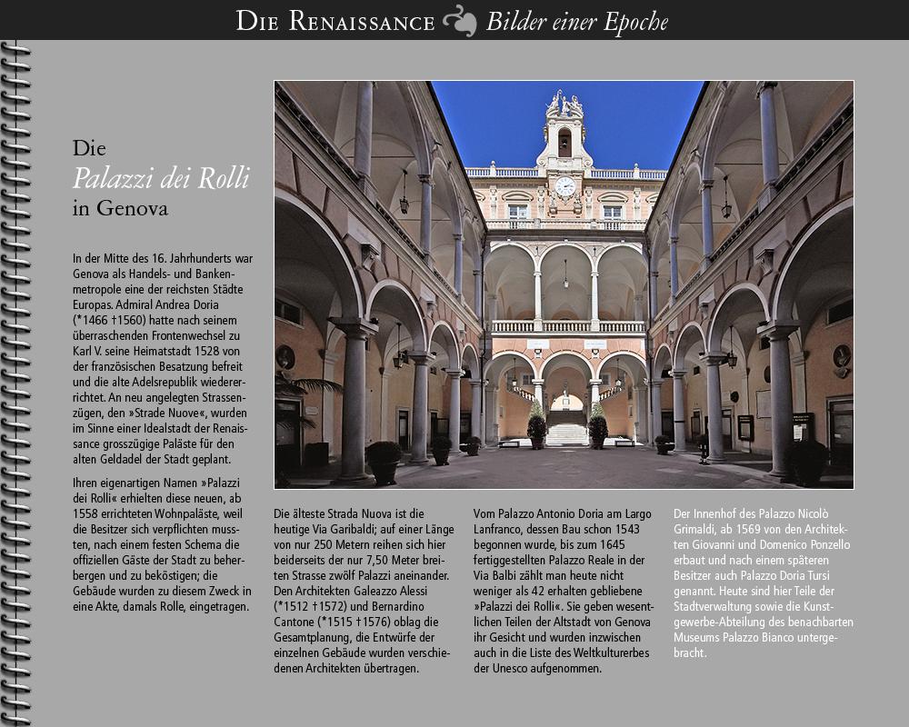 1558 • Palazzi dei Rolli, Genova