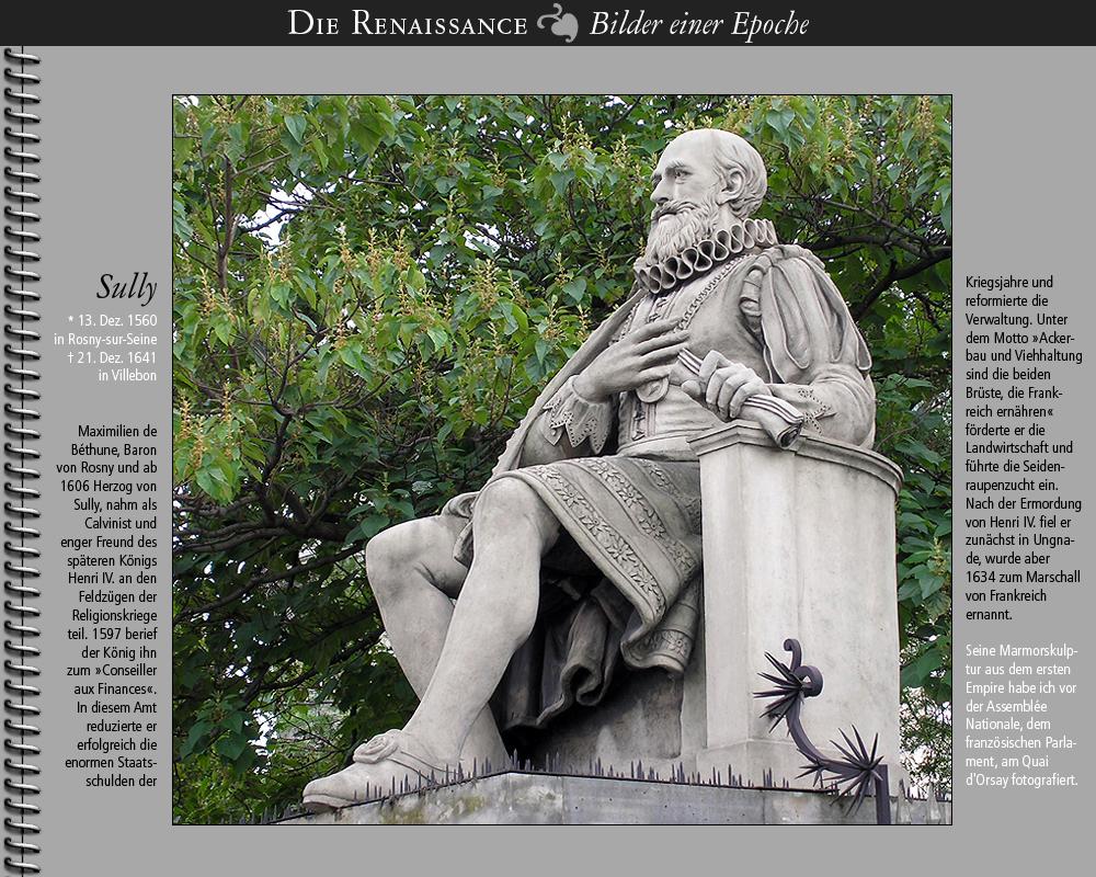 1560 • Sully – Maximilien de Béthune