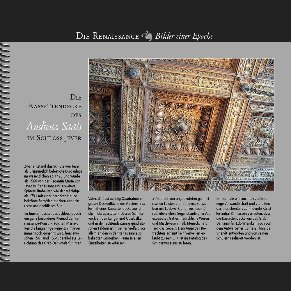 1561 • Jever | Kassettendecke im Schloss