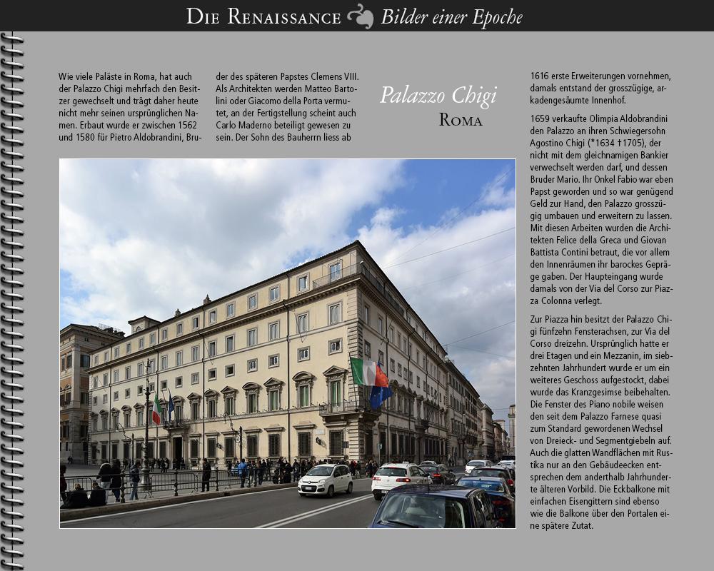 1562 • Roma   Palazzo Chigi
