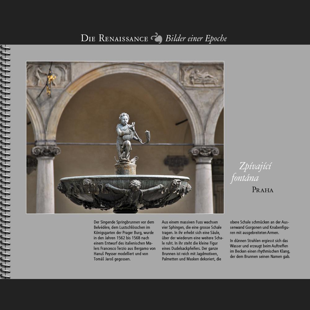 1568 • Praha | Zpívající fontána