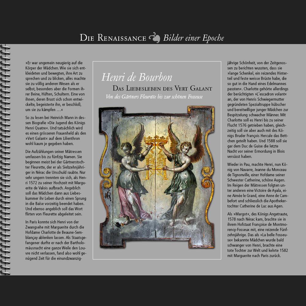 1570 • Henri de Bourbon   Das Liebesleben des Vert Galant – I