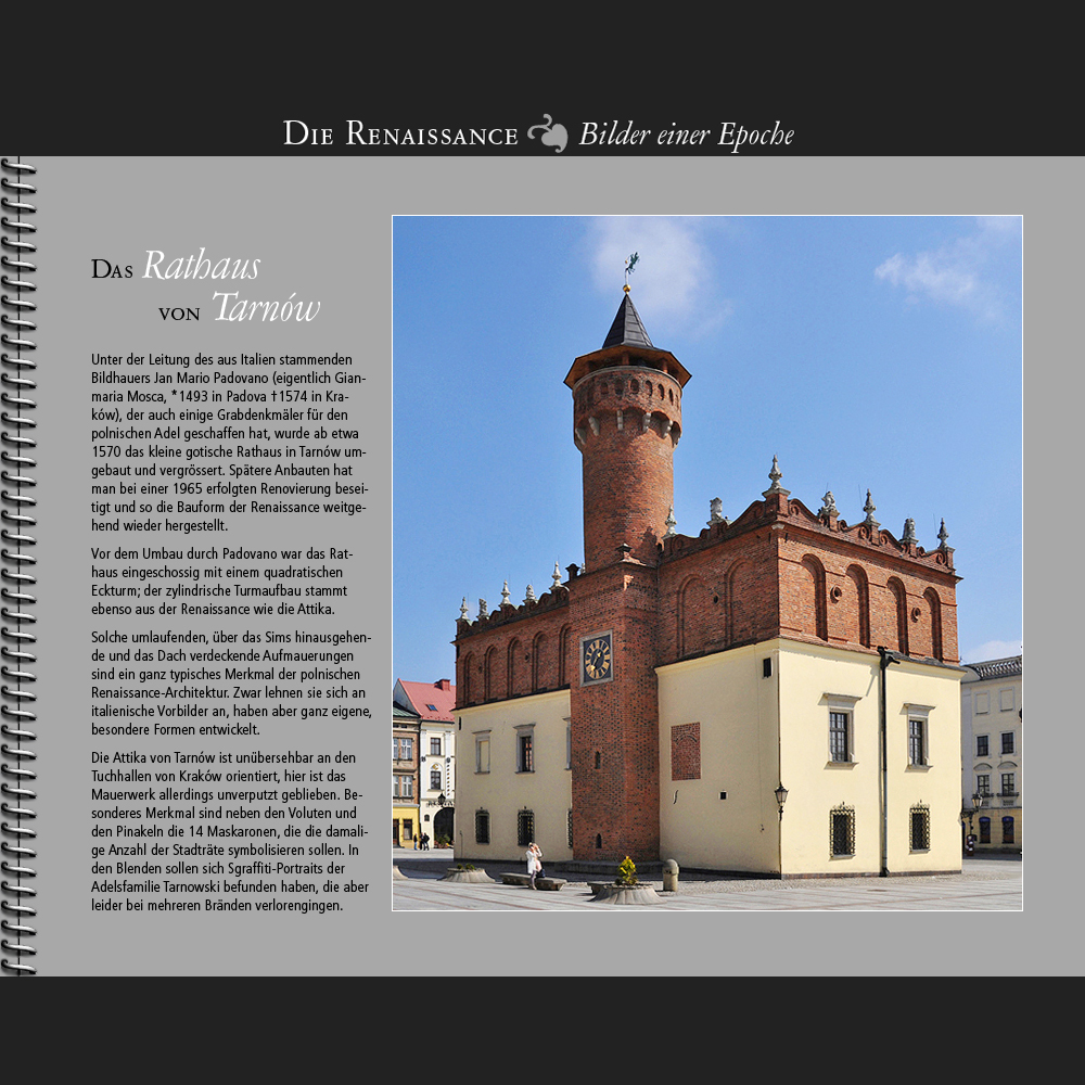 1570 • Tarnów | Rathaus