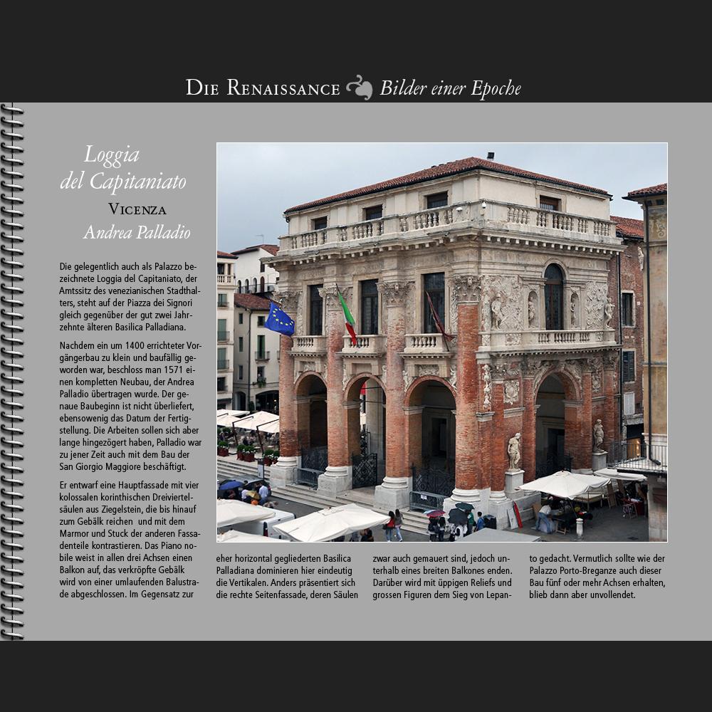 1572 • Vicenza   Loggia del Capitaniato