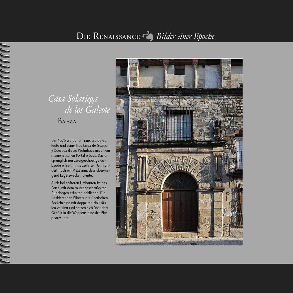 1575 • Baeza   Casa Solariega de los Galeote