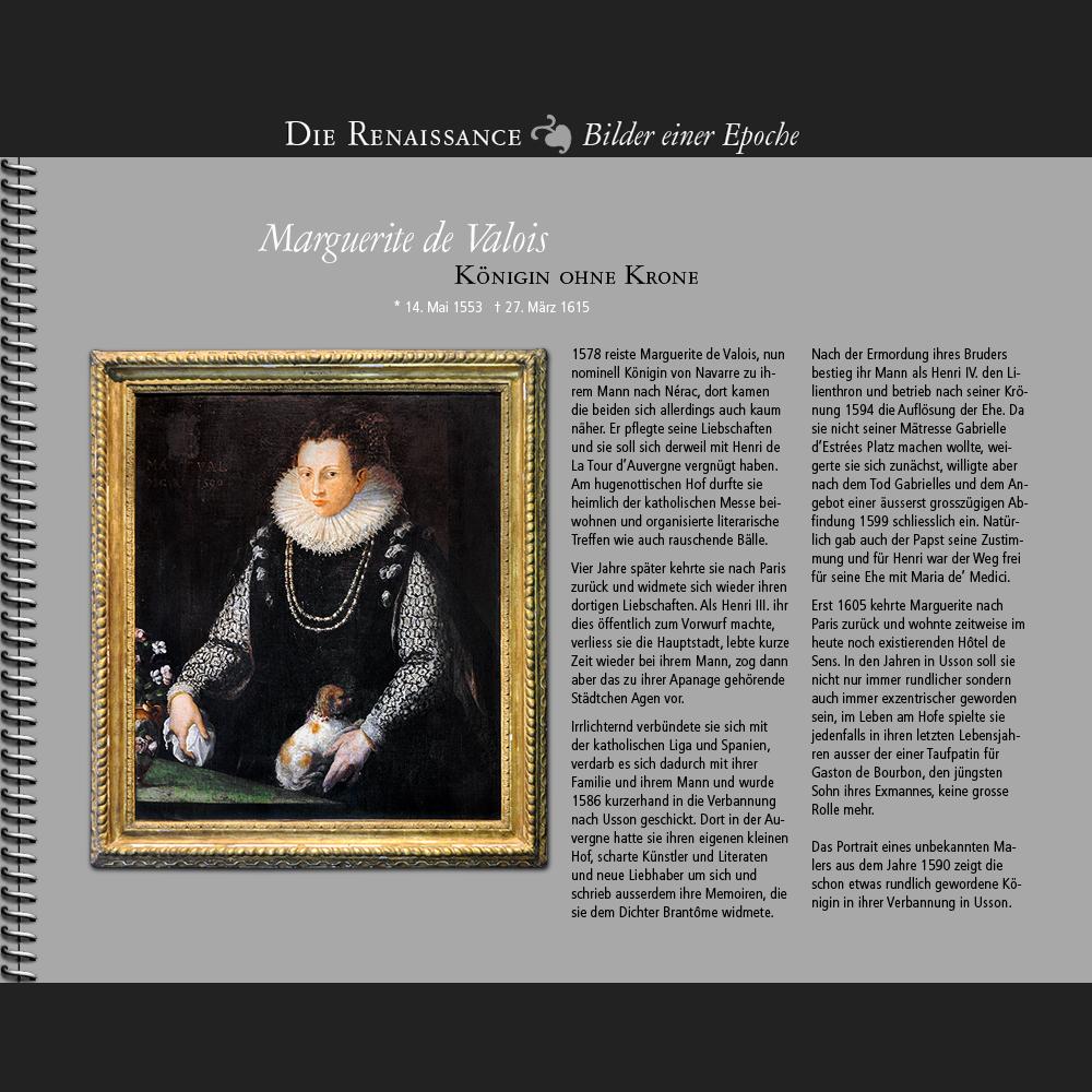 1578 • Marguerite de Valois | Königin ohne Krone