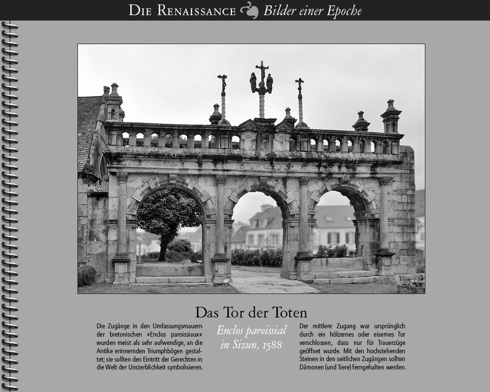 1588 • Sizun   Das Tor der Toten