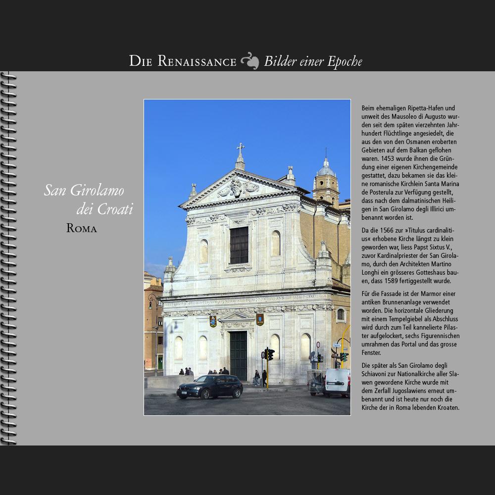 1589 • Roma   San Girolamo dei Croati