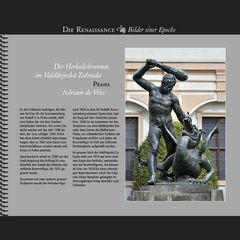 1593 • Praha | Herkules-Brunnen im Valdštejnská Zahrada