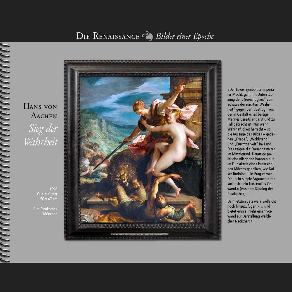 1598 • Hans von Aachen | Sieg der Wahrheit