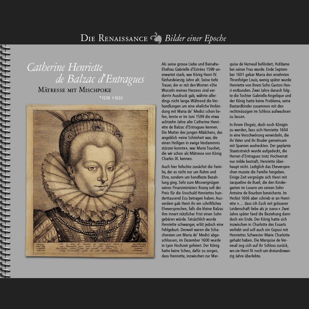 1599 • Catherine Henriette de Balzac d'Entragues | Mätresse mit Mischpoke