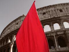 #15ott Roma è un po' rossa #occupyrome