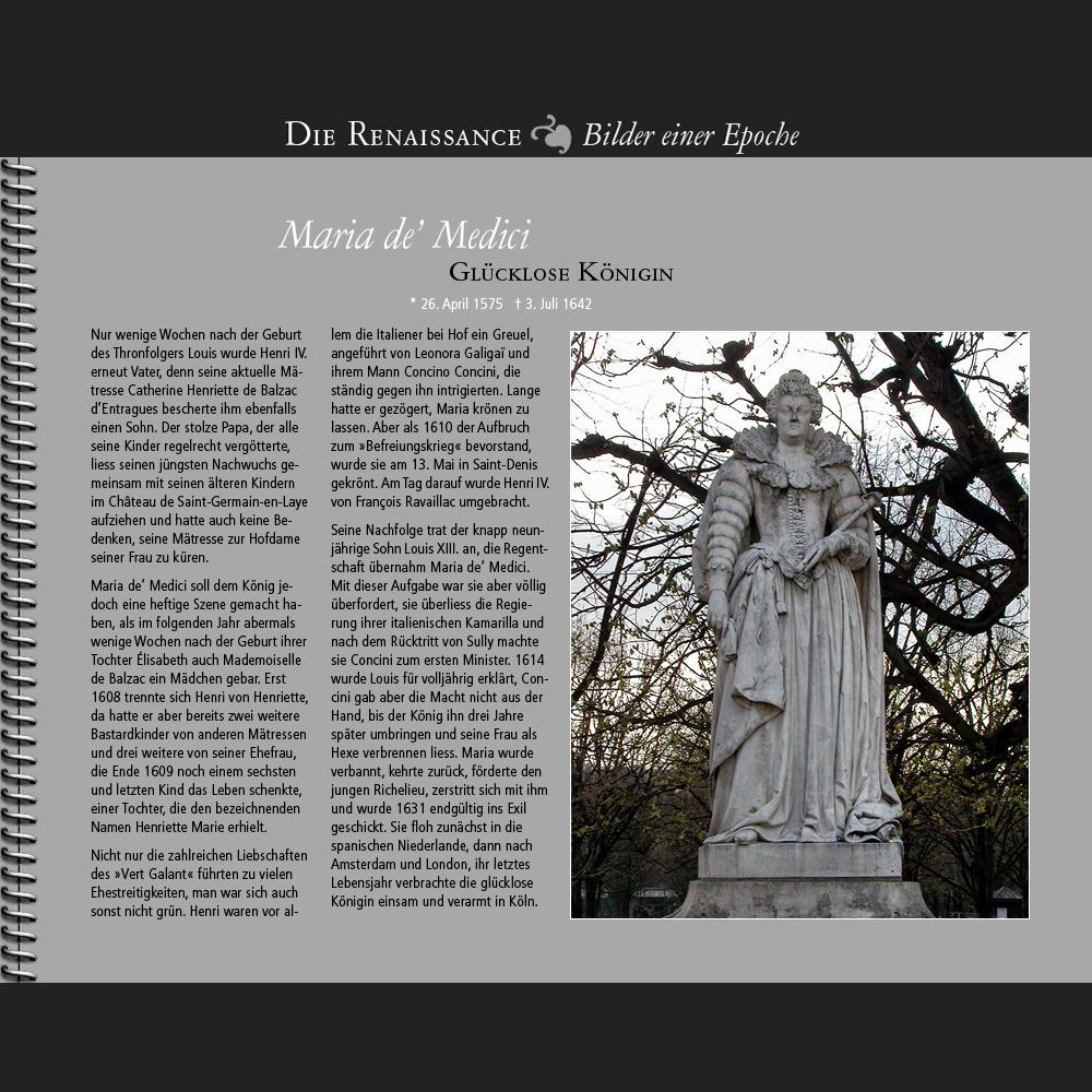 1601 • Maria de' Medici | Glücklose Königin
