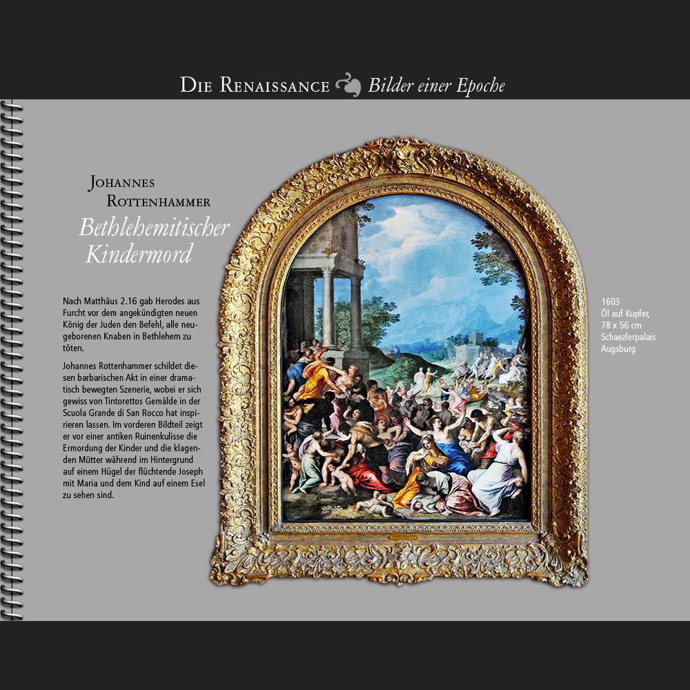 1603 • J. Rottenhammer   Bethlehemitischer Kindermord