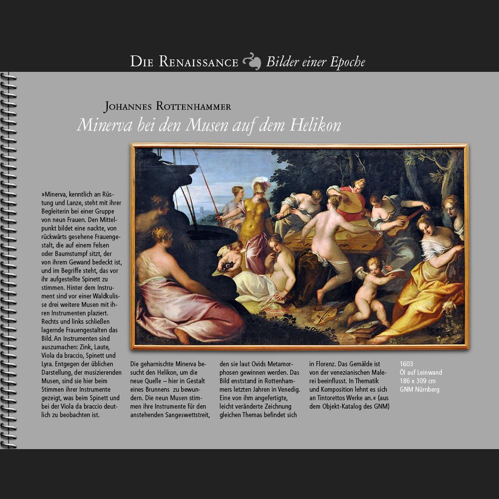 1603 • J. Rottenhammer | Minerva bei den Musen