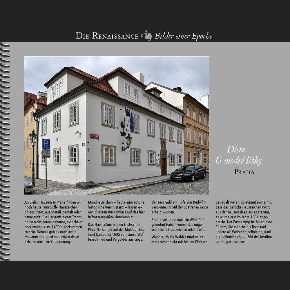 1605 • Praha   Dum U modré lisky