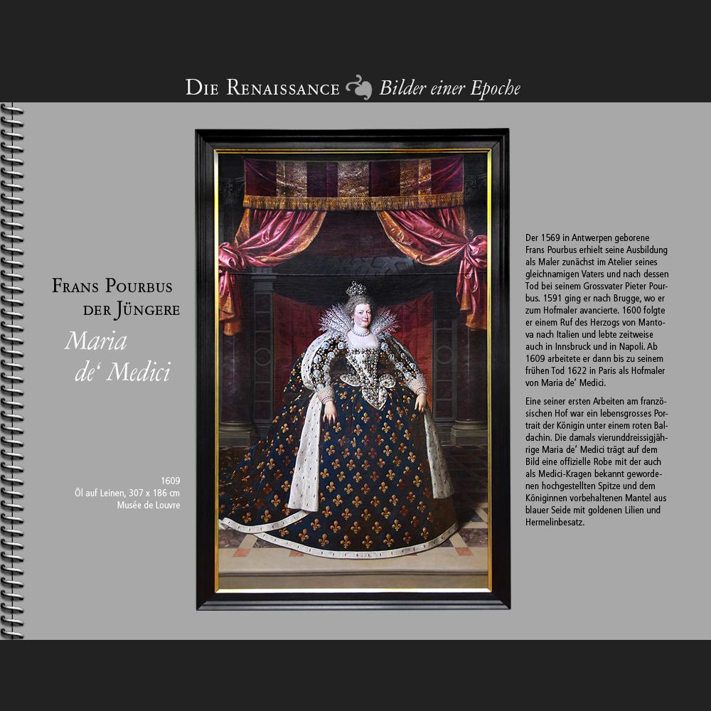 1609 • Frans Pourbus der Jüngere | Maria de' Medici