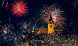 Feuerwerk zum Jahreswechsel in Gratwein Straßengel! von Uwe Vollmann
