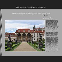 1626 • Praha | Bronzegruppen der Loggia des Valdštejnský Palác