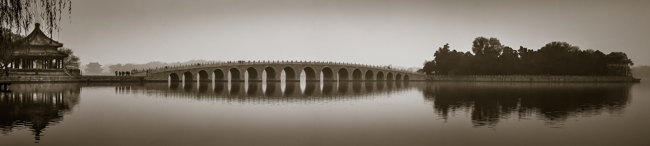 ~ 17-Bogen-Brücke ~