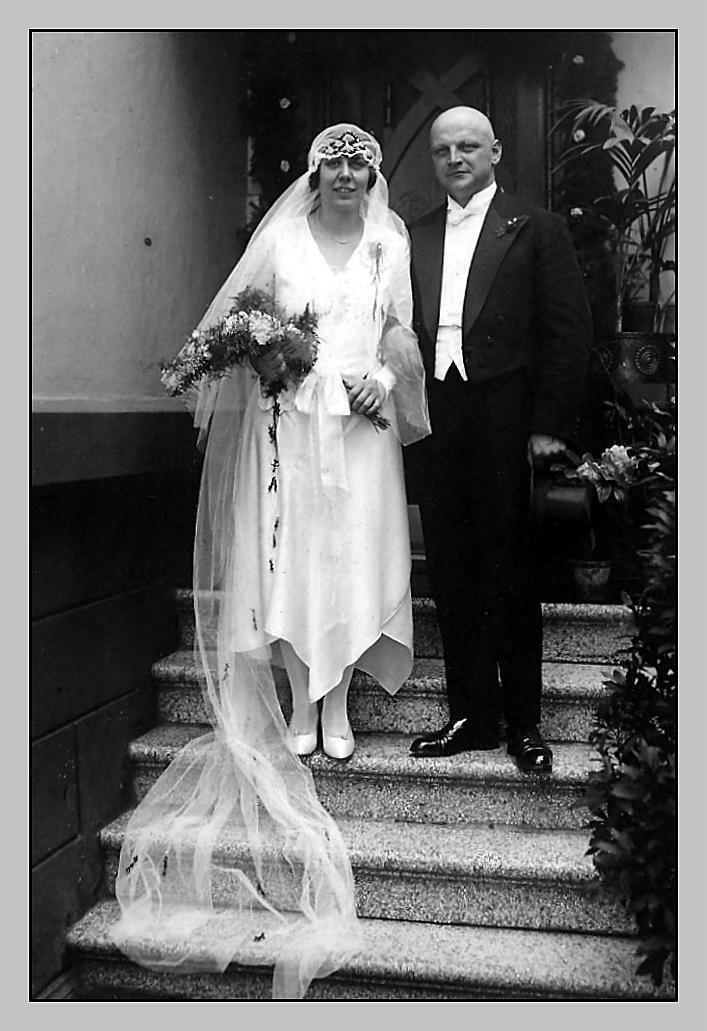 17. Mai 1930 - Hochzeit in Köln