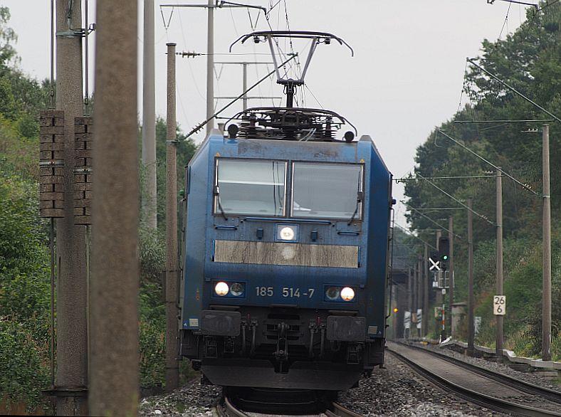 185 514 auf dem Weg nach Würzburg ..